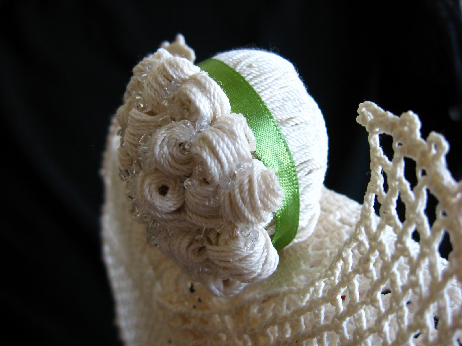 Edith - crochet angel with curls