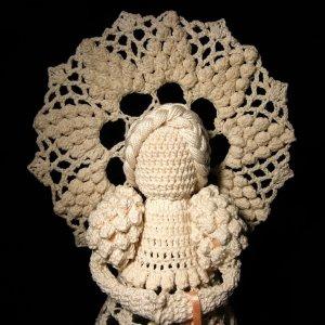 Crochet angel Lillian