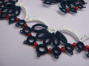 Butterflies necklace - detail