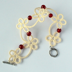 Flower bracelet - unique jewellery