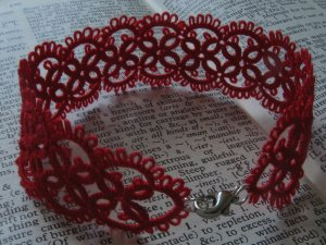 Handmade bracelet - unique lace.