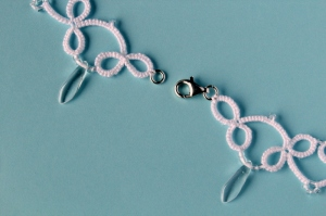 Necklace closes with sterling silver (925) lobster clasp