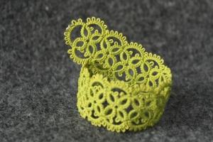 Olive bracelet - unique pattern