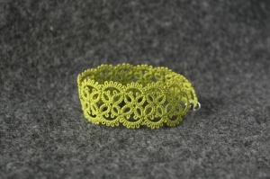 Olive hand-made bracelet