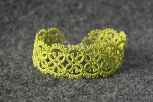 Olive unique bracelet